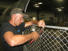 Securing Chain Link