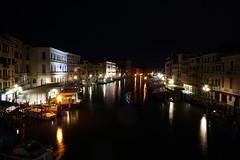 Rialto I (wani_no_ko) Tags: rialto bridge venezia venice venedig venise grand canale italy italia italien night lights