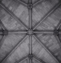 Vaulted Ceiling (danowen88) Tags: architecture building architexture city buildings monochrome blackandwhite design minimal cities gothic art arts architecturelovers abstract lines instagood beautiful archilovers architectureporn lookingup style archidaily composition geometry perspective geometric pattern nikon nikond5300 d5300 nikonofficial thecity blackandwhitephotography monochromphotography symmetry texture ceiling vault