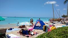 (Mitchell Lafrance) Tags: 2016 vacation travel holiday hawaii oahu waikikibeach beach