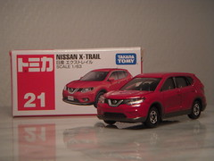 Nissan X-Trail 1:63 Diecast By Tomica (PaulBusuego) Tags: nissan xtrail rouge murano juke primera almera suv sports utility vehicle platinum 4x4 four wheel drive fwd 4wd rogue datsun honda crv mitsubishi japan japanese jdm scale model diecast toy car van 162 tomica tomy takara 2012  indoor miniature replica 164 renault patrol