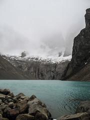 "Torres del Paine: la très belle lagune au pied des Torres <a style=""margin-left:10px; font-size:0.8em;"" href=""http://www.flickr.com/photos/127723101@N04/30225336885/"" target=""_blank"">@flickr</a>"