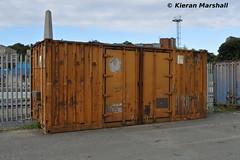CIEU 0603630, Heuston, 12/10/16 (hurricanemk1c) Tags: railways railway train trains irish rail irishrail iarnrd ireann iarnrdireann dublin heuston 2016 cie corasiompaireireann container