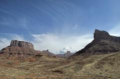 Hwy 128 Utah 626 (MalaneyStuff) Tags: hwy128 utah landscape mesa nikon d5100 rock sky clouds usa moab