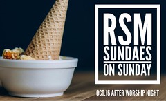 Students! Don't forget to join us tonight for worship night and sundaes on Sunday! Doors open at 5:30 PM. #rsm #worshipnight #madeaway #edmond (rcokc) Tags: students dont forget join us tonight for worship night sundaes sunday doors open 530 pm rsm worshipnight madeaway edmond