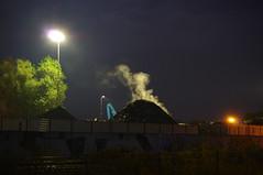 Dortmund Harbour / Hafen (Mado46) Tags: bxl06 mado46 germany deutschland nrw dortmund hafen harbour rauch smoke nacht night 222v2f