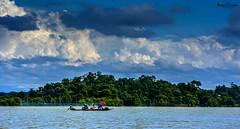 Passengrs (animeshchanda) Tags: lanscape assam india watercsape clouds sky