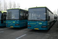 Connexxion 5653 & 5654 (Volvo 8700) ([Publicer Transport] Ricardo Diepgrond) Tags: connexxion almere buiten depot bus vervoer ov volvo 8700 streekvervoer 5653 5654