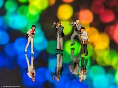 Tiny People - Fotografen im Wunderland der Farben (J.Weyerhuser) Tags: farbeffekte tinypeople fotografen h0 figuren noch