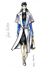 img953 (Irina V. Ivanova) Tags: 365sketches fashionillustration sketching fashion louisvuitton