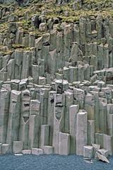 Kap Dyrholaey - Basaltsulen (astroaxel) Tags: island kap dyrholaey basalt sule