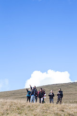 Fonte dell'Aquila - Lezione pratica corso escursionismo AIGAE (Risorse Cooperativa) Tags: risorse cooperativa active tourism corso base escursionismo aigae fonte dellaquila sibillini destinazionemarche ragnolo piani di