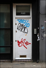 Teach, Drax and others... (Alex Ellison) Tags: urban graffiti tag wd teach eastlondon drax