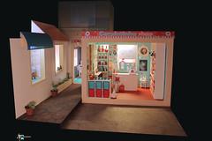 Playscale miniature shop diorama 21