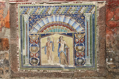 House of Neptune and Amphitrite (kleintjef) Tags: italy archaeology spring italia ercolano herculaneum scavi 2013 ercolanoscavi april2013