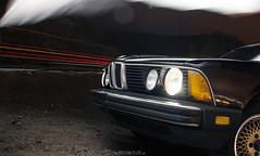 BMW E23 735i (mojocoggo) Tags: original light dylan classic night vintage photography wheels plate advertisement 80s bmw leff e23 735i mojocoggo