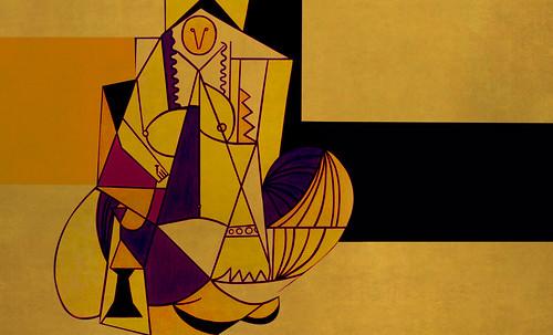 """Odaliscas (Mujeres de Argel) yuxtaposición y deconstrucción de Pablo Picasso (1955), síntesis de Roy Lichtenstein (1963). • <a style=""""font-size:0.8em;"""" href=""""http://www.flickr.com/photos/30735181@N00/8748003036/"""" target=""""_blank"""">View on Flickr</a>"""