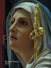 Our Lady of Sorrows (fajjenzu) Tags: sculpture religion statues malta crucifix procession spirituality salvation crucifixion redeemer redemption jesuschrist goodfriday holyweek ourladyofsorrows oursaviour passionofchrist cospicua agonyinthegarden betrayalofjudas thescourgingatthepillar