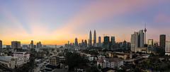 Sunrise at Kuala Lumpur (Muhammad Hafiz Muhamad) Tags: panorama composite sunrise nikon cityscapes tokina malaysia kualalumpur hdr hafiz digitalblending d7000 tokina1116mmf28atx federalterritoryofkualalumpur federalterritoryofkualalumpu mhafiz87 muhammadhafizbinmuhamad