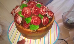 pot of roses cake (cmlcampbell) Tags: rose cake flowerpot flickrandroidapp:filter=none