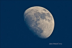 Waxing Gibbous 78% Of Full (Jeannot7) Tags: moon lune luna 78 waxinggibbous