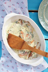 bake fish fillet (Zoryanchik) Tags: red sea food white fish macro green vegetables vertical horizontal closeup cheese dinner tomato table lunch pepper cuisine salad beans lemon healthy dish sauce background plate nobody vegetable fresh meat gourmet delicious whole eat potato slice steak meal basil seafood diet cooked parsley fried haddock herb isolated baked prepared fillet