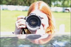 Her Again??? (Daryll90ca) Tags: camera woman reflection canon photographer prettywoman canoncamera womanphotographer