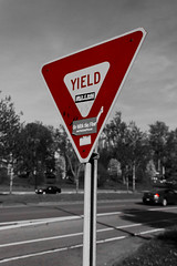 "Yield! • <a style=""font-size:0.8em;"" href=""http://www.flickr.com/photos/59137086@N08/8882425423/"" target=""_blank"">View on Flickr</a>"
