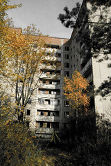 Chernobyl appartment block (MoraTilTordis) Tags: abandoned radiation ukraine disaster second block appartment chernobyl pripyat