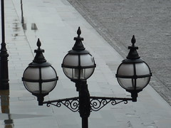gas lamp, gaslamp, gaslight, gas light, security camera, St. Pancras Hotel, N1/NW1 (victorianlondon) Tags: gaslamp securitycamera gaslight stpancrashotel n1nw1