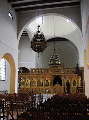 Tirana, orthodox church - interior