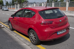 Seat Leon (Jusotil_1943) Tags: coches autos cars redcars