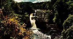 High Force (Jamie  Sproates) Tags: wwwjamiesproatescom high force river tees teesdale panorama hdr canon 5d mk3 mkiii 70200lf4 water falls rocks
