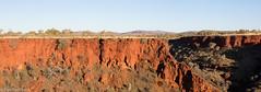 Dale's Gorge, Karijini National Park, WA (BenParkhurst) Tags: scenery view dales gorge karijini national park wa western australia red rocks eucalypts hill cliff