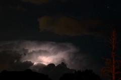 Last Night, Stormy (Anna Gurule) Tags: night clouds lightening lighteningstrike longexposure nmskies nightsky