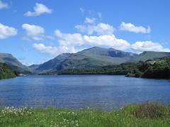 2578 Llyn Padarn from Pont Pen y Llyn (Andy panomaniacanonymous) Tags: 20160718 eee eryri lake lll llynpadarn mtsnowdon photostream pontpenyllyn ppp snowdonia sss water www yrwyddfa