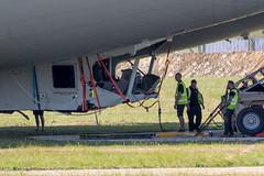 Airlander. Where do we start? (Ken Barley) Tags: airlander airlander10 airship bedfordshire cardington crash engineer hav hav304 hybridairvehicles