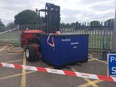 Bedfordshire Fire & Rescue Fork Lift (slinkierbus268) Tags: bedfordshire fire rescue fork lift incident response unit