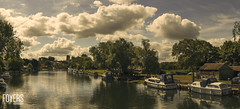 River Waveney, Beccles, Suffolk (Bob Foyers) Tags: wordpress foyersphotography boats clouds river suffolk beccles canon6d sigma50mmart