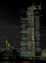 EZB, abends (JohannFFM) Tags: ezb abends
