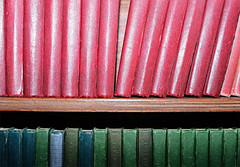 Bookshelf. (curly42) Tags: books bookshelf pattern