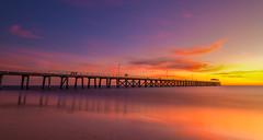 Grange Jetty (Nathan Godwin) Tags: sunset sunsetphotography southaustralia sunsetporn sunsetseascape southaustralianbeaches seascape hdrsunset sunsets australiansunset jetty grange grangebeach grangejetty photography adelaide adelaidephotographer adelaidebeaches nikon nikonphotography d800 longexposure longexpo landscapephotography landscape south australia