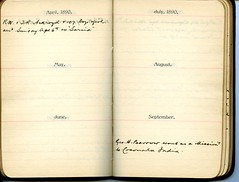 Diary of Robert Wallace p.22 (Community Archives of Belleville & Hastings County) Tags: 1880s 1890s 1900s 1910s 1920s diaries homechildren