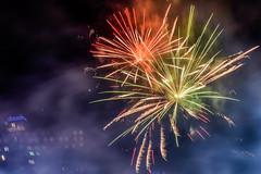 _DSC0753 (marilynwe) Tags: 2016 becca chris family marinersgame rebecca safecofield turnerfamily fireworks