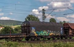 2017_2016_07_09_Haunetal_Unterhaun_MRCE_DISPO_6193_613_mit_gem_Gterzug_Bad_Hersfeld (ruhrpott.sprinter) Tags: ruhrpott sprinter geutschland germany nrw ruhrgebiet gelsenkirchen lokomotive locomotives eisenbahn railroad zug train rail reisezug passenger gter cargo freight fret diesel ellok hessen haunetal unterhaun akiem db cancantus ctl dispo eloc meg mrcedispolok rurtalbahn vtlt ermewa uacns 151 155 186 189 193 1263 es64f4 ice cocoon alien outdoor logo natur graffiti