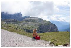 endless (Romina Tripaldi) Tags: veneto dolomiti dolomites nature montagna mountain ilalia italy endless infinito woman riflessione pensare riflettere