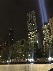 IMG_0355 (gundust) Tags: nyc ny usa september 2016 newyork newyorkcity manhattan architecture wtc worldtradecenter september11th 911 tributeinlight xeon twintowers memorial remembrance night 911memorialmuseum snohetta pavilion museum