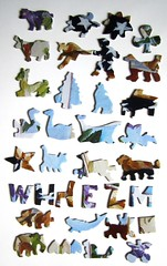 Patriotic Patty (Carol Lee Walker) - die Whimsies (Leonisha) Tags: puzzle jigsawpuzzle puzzlepieces puzzleteile whimsies