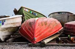 Boats in color (Antti Tassberg) Tags: 135mm autumn boat bokeh dof fall lens prime syksy varsasaari vene westend espoo uusimaa finland