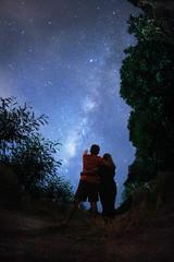 Cosmic Hug (PaparazSea.com) Tags: milkyway anilao philippines findmiljywayinphilippines stars hugs sweet couple starlight